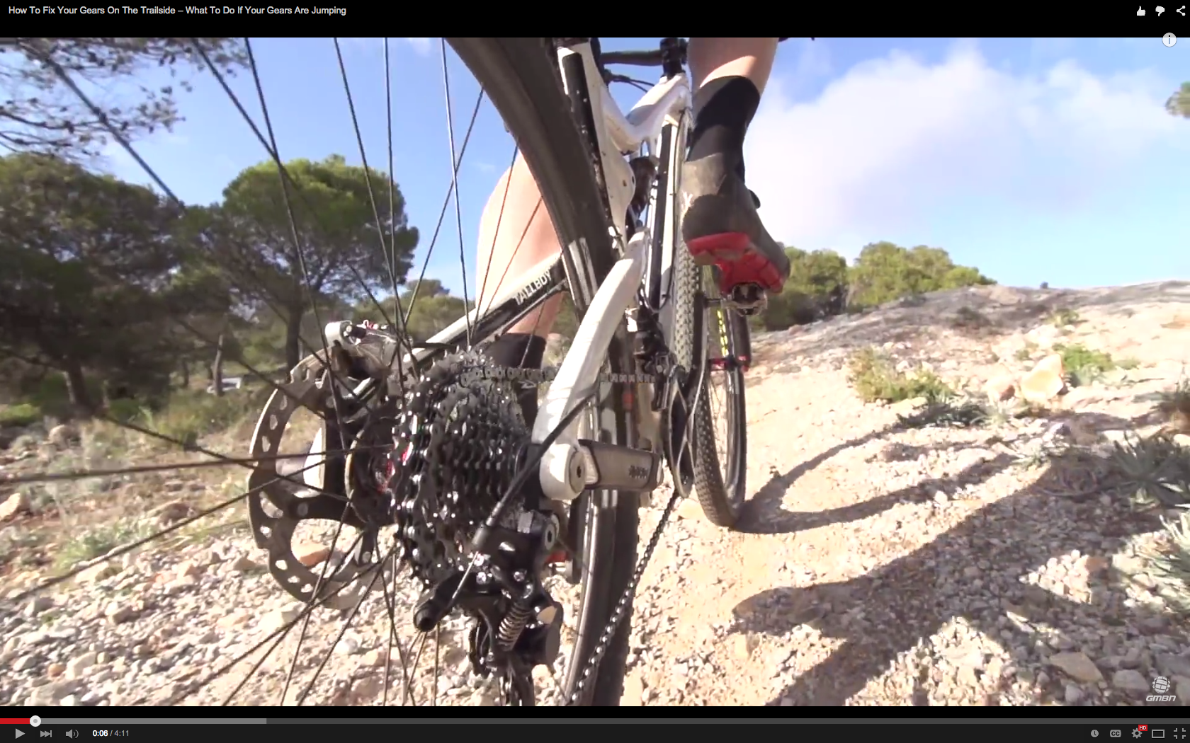 Video How To Fix Your Gears On The Trailside Mountain Biking