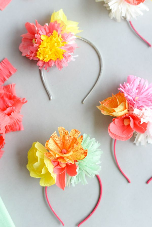 50 best paper flower tutorials flower headbands floral headbands 50 best paper flower tutorials bespoke bride wedding blog mightylinksfo