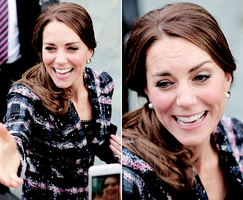 """flawlesscatherine: """"  Catherine, Duchess of Cambridge visits The National Football Museum in Manchester, England. 