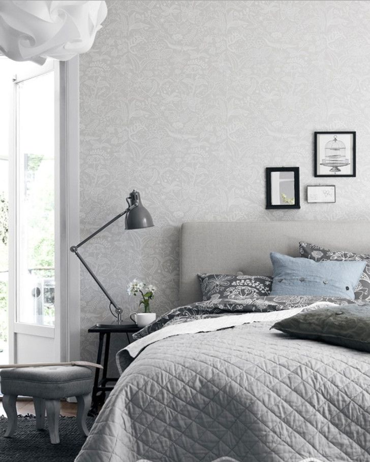 Bedrooms. Amazing Floral Wall Decal Scandinavian Bedroom