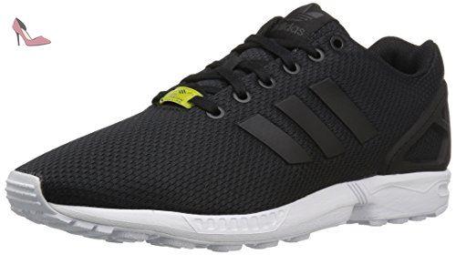 buy online 9eb50 084a3 Adidas ZX Flux New Edition Limitée d  énergie de couleur Sneakers - noir 42  -