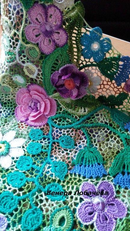 Фотография | CROCHET IRLANDES | Pinterest | Encaje irlandés, Crochet ...