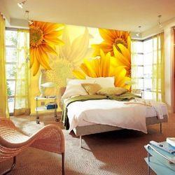 high-qulity 3d wallpaper,golden sunflowers wall murals for decoration,NEW ARRIVALS #sunflowerbedroomideas
