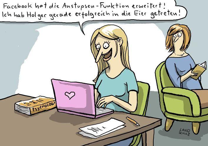 Anstupsen Fb