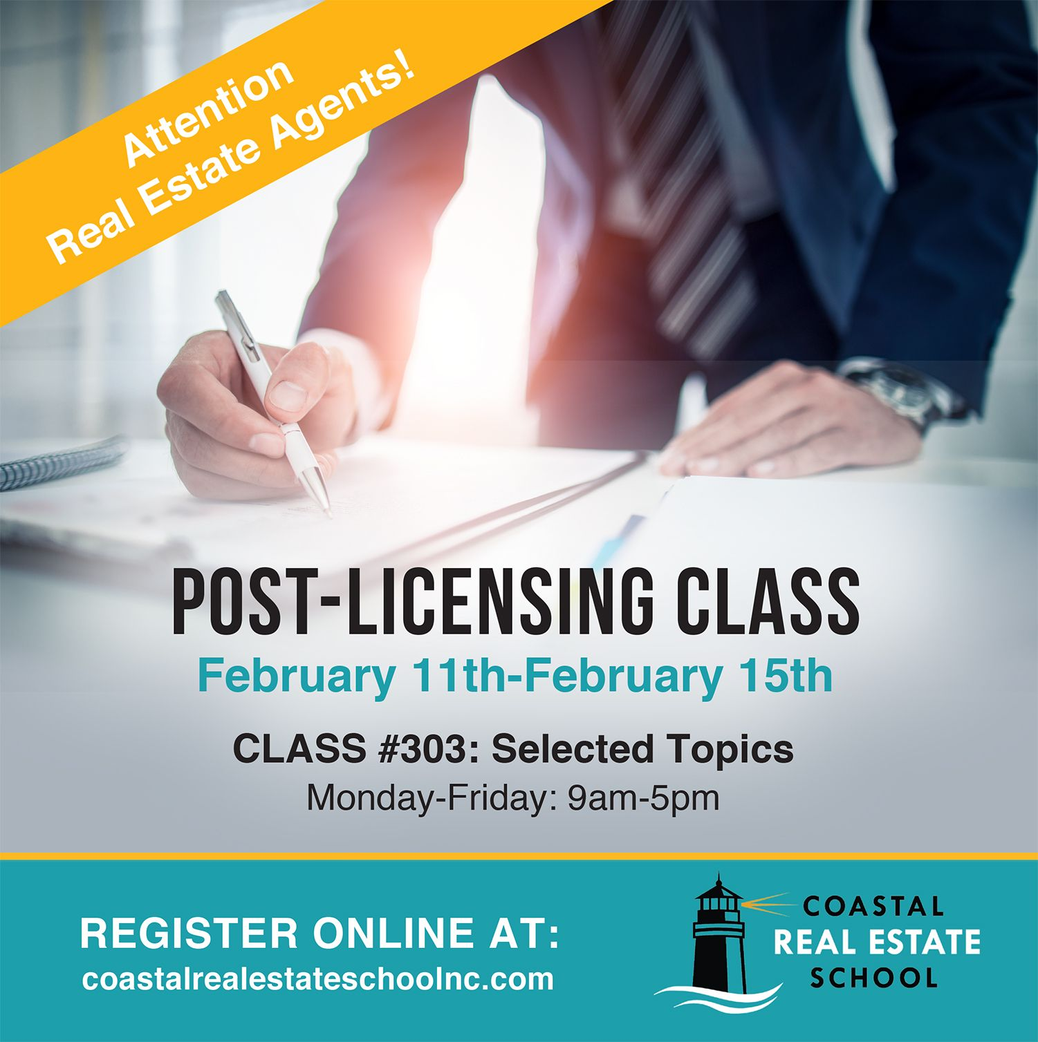 Post Licensing Class Real Estate School Class Register Online