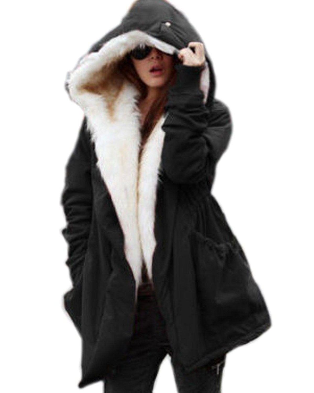 Winter Clothes Loose In The Long Paragraph Slim Coat Black Cb126xhc2bf Winter Coats Women Winter Jackets Women Hooded Winter Coat [ 1500 x 1199 Pixel ]