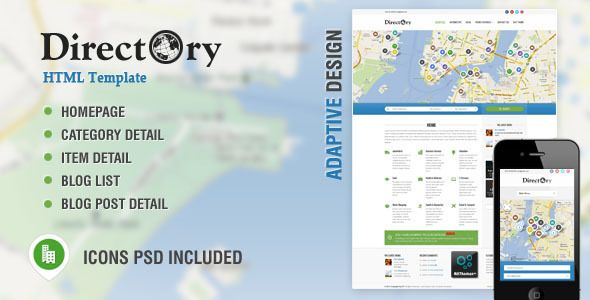 Deals Directory Portal & Listing HTML Templatein each seller & make ...
