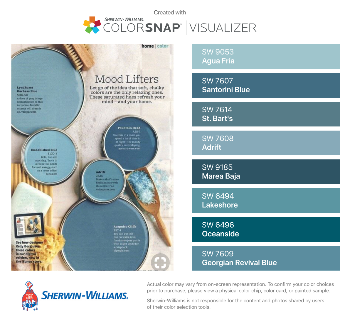 I Found These Colors With Colorsnap Visualizer For Iphone By Sherwin Williams Agua Fria Sw Fall Paint Colors Sherwin Williams Paint Colors Sherwin Williams