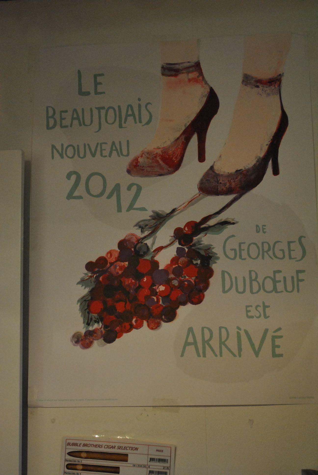 Le Beautolais Nouveau 2012