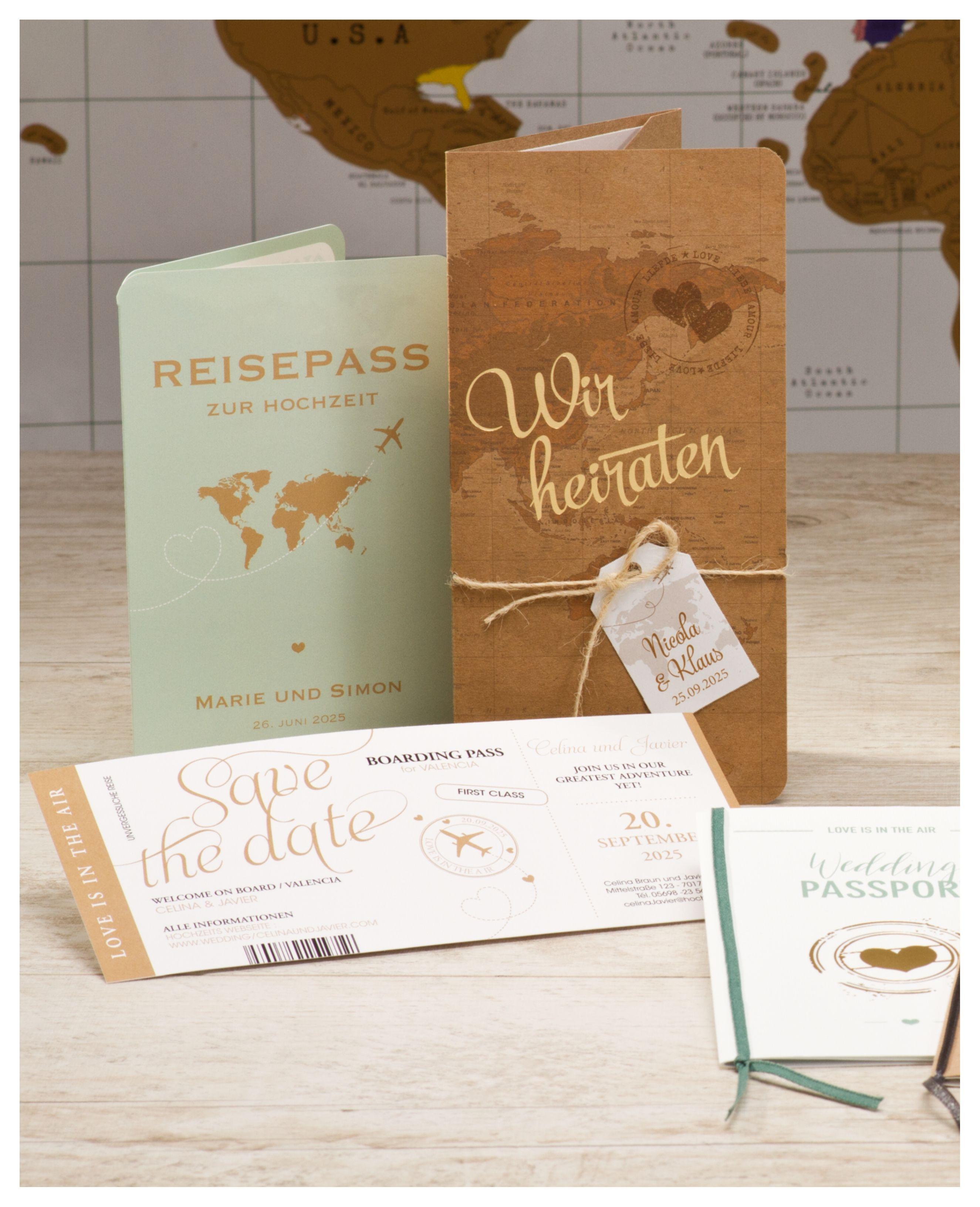 Hochzeitseinladungen #vintagesuitcasewedding