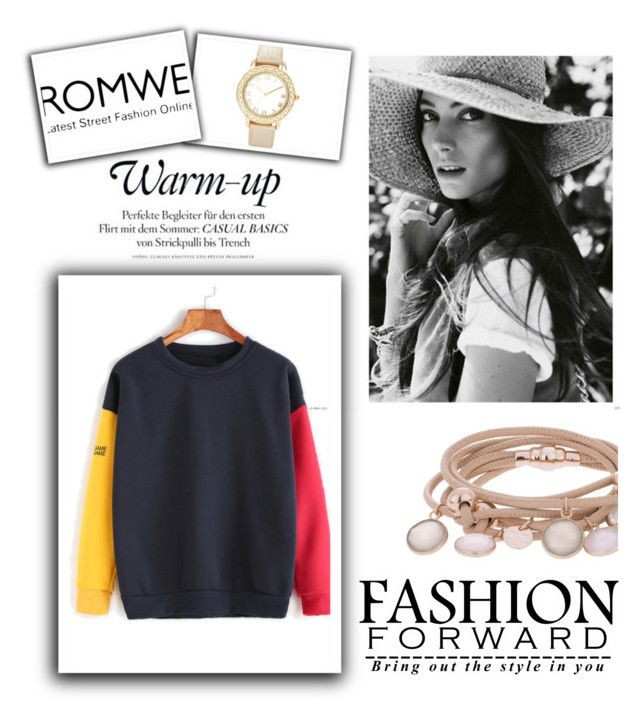 """""""Romwe"""" by lg-49 ❤ liked on Polyvore featuring Chico's and Marjana von Berlepsch"""