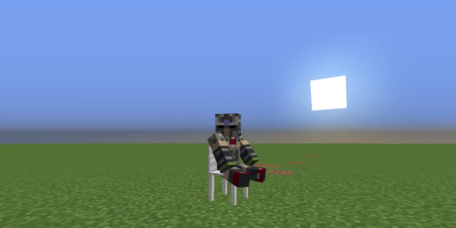 How To Make A Working Chair You Can Sit On Canning Chair Minecraft