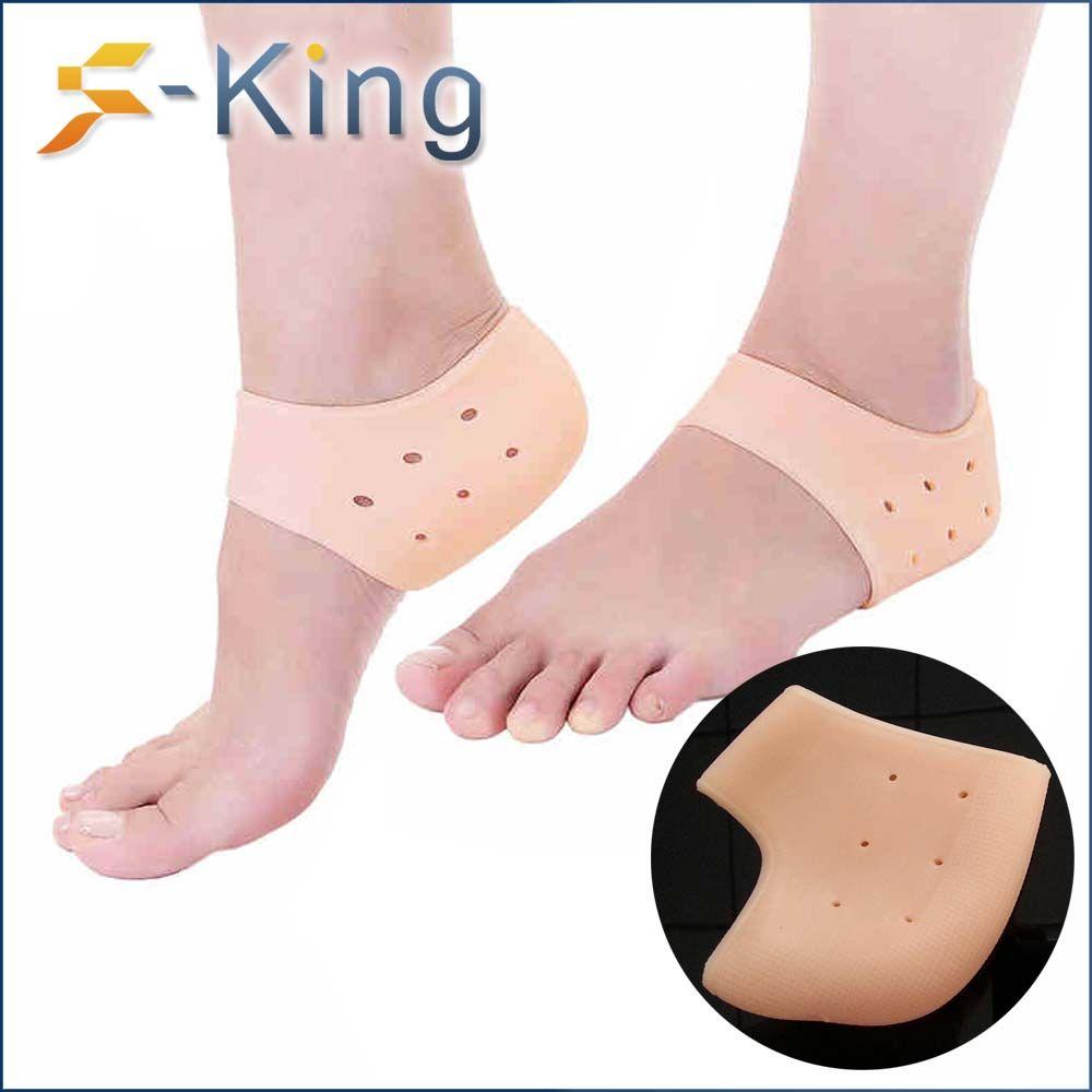 Cuidado De Los Pies Silicona Protector Gel Calcetines Plantillas Cuidado Del Pie Cojín Calcetín Heels Shoes Gel