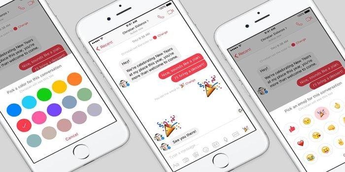 Cambia el color del chat de Facebook Messenger oficial http://iphonedigital.es/chat-facebook-cambiar-color-iphone-ipad/ #iphone