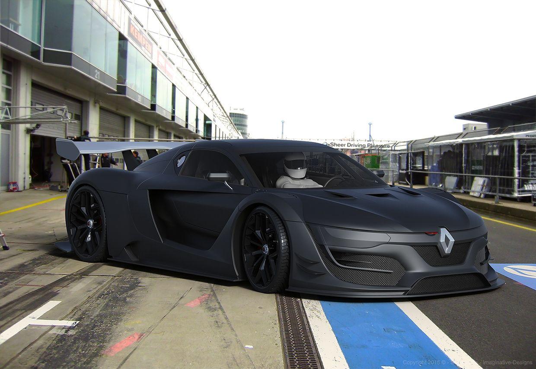 Renault Sport RS01 Matte Black on Behance Renault, Matte