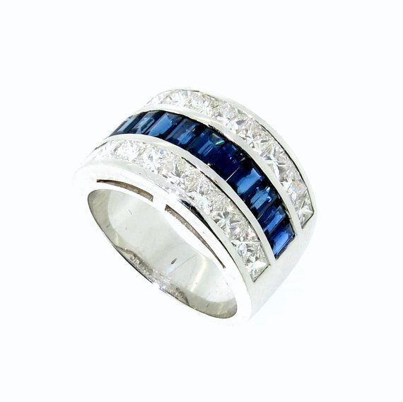 Gems and Jewels 6mm 14K Black Gold Over 1//2 Ct Black Sapphire /& White Simulated Diamond Half Eternity Mens Anniversary Wedding Band Ring