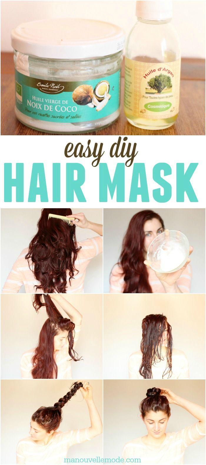 Argan Coconut Oil Hair Mask Ogt Blogger Friends Pinterest