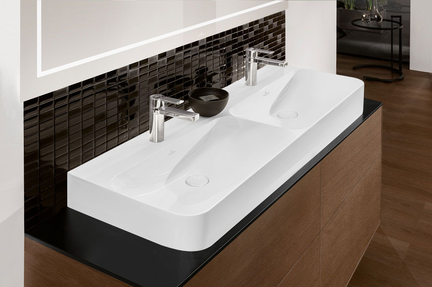 Relativ Double washbasin from the Finion Collection by Villeroy & Boch  OQ89