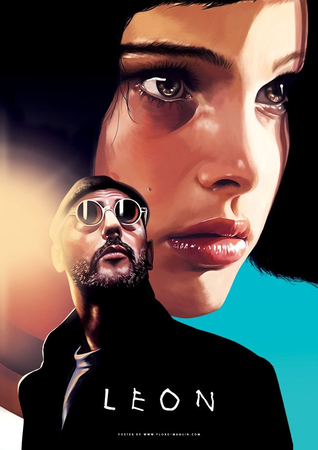 Léon: The Professional (1994) #filmposters