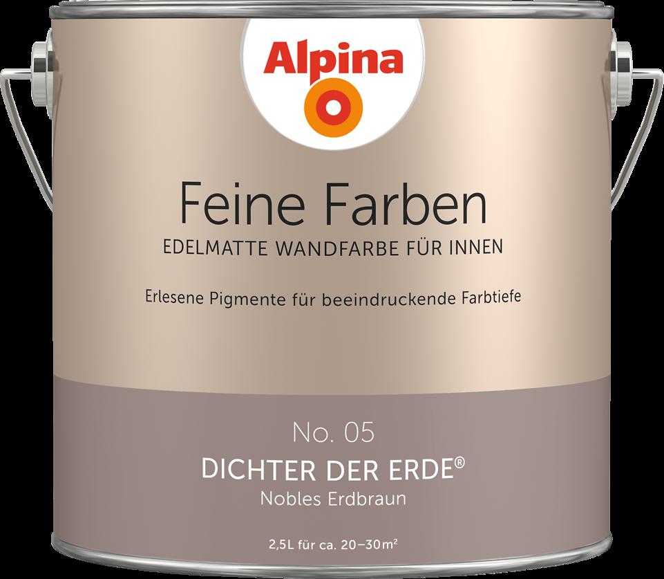 Edelmatte Wandfarben In Braun