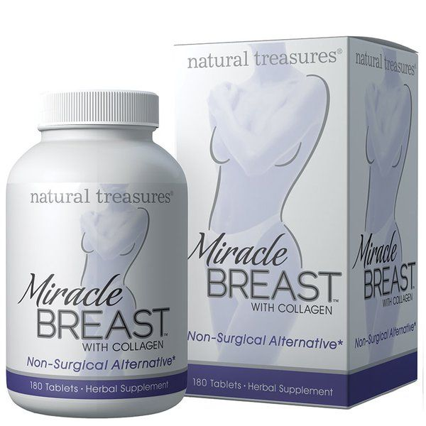Natural Treasures Miracle Breasts is a supplement that stimulates breast  growth!