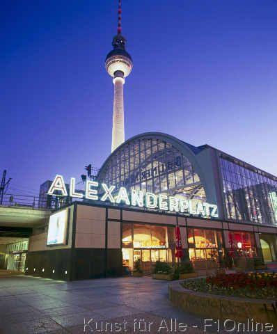 Berlin Fernsehturm Alexanderplatz 63 0 X 76 0 Cm Berlin Germany Berlin Germany