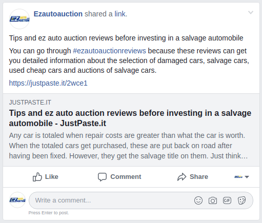 You Can Go Through Ezautoauctionreviews Because These Reviews Can