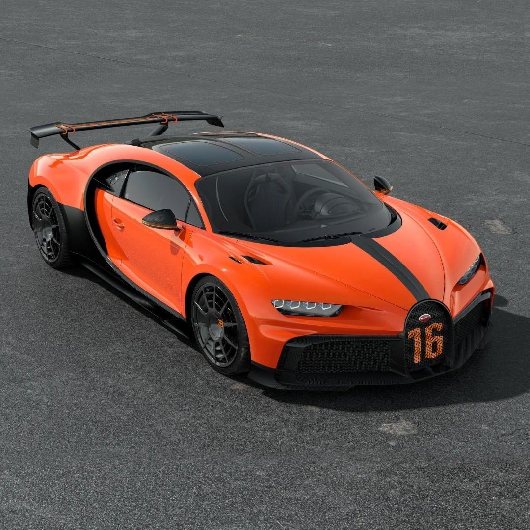 Bugatti On Instagram Another Stellar Option For The Chiron Pur Sport Would Be This Vivid Orange And Black Combinat Bugatti Chiron Sports Cars Bugatti Bugatti