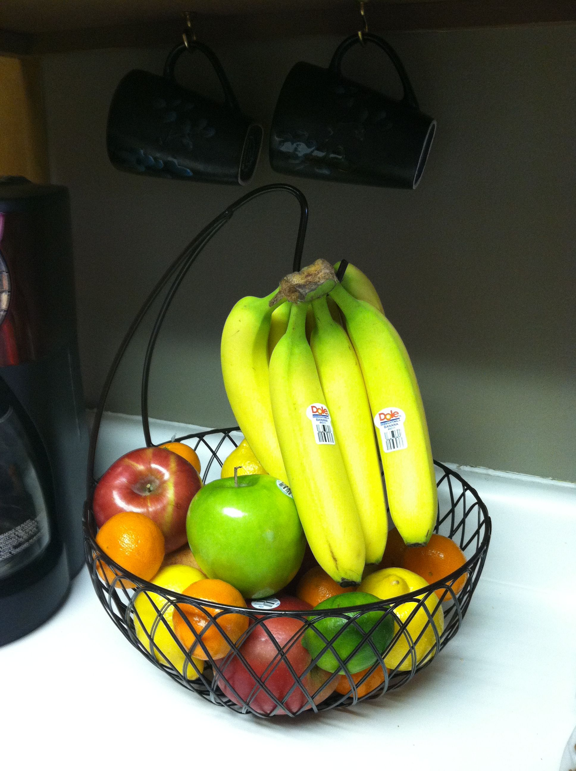 fruit bowl with banana hanger - Got it today & I LOVE it!! :)