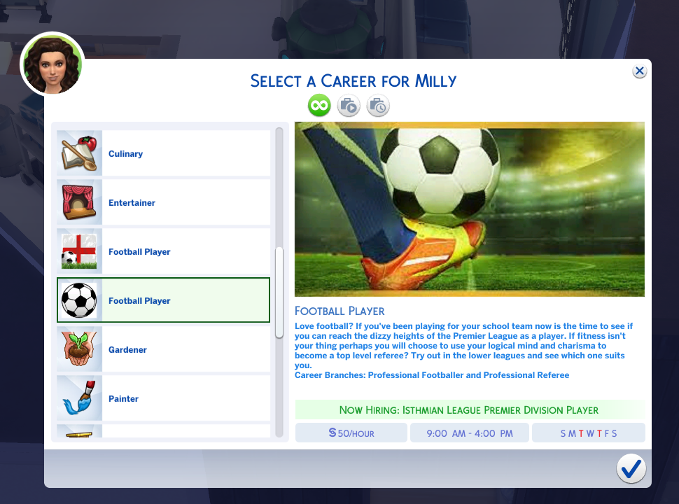 Mod The Sims Football Player Referee Career Sims 4 Traits