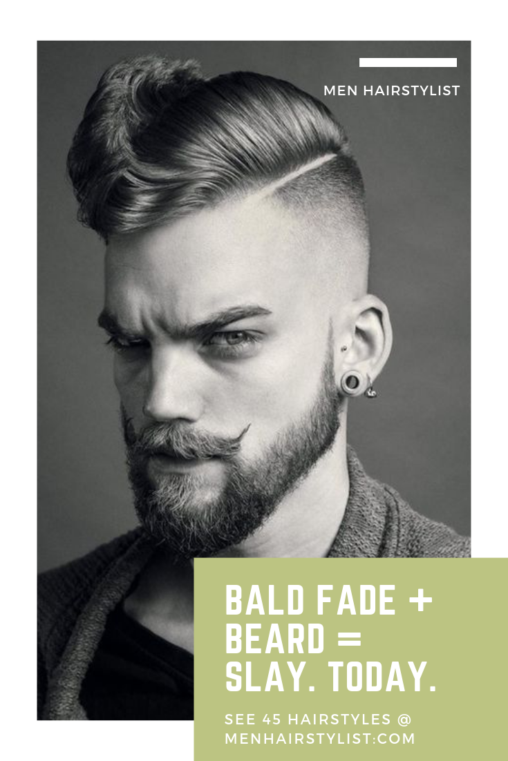 looking mean  Haircut names for men, Haircuts for men, Beard fade