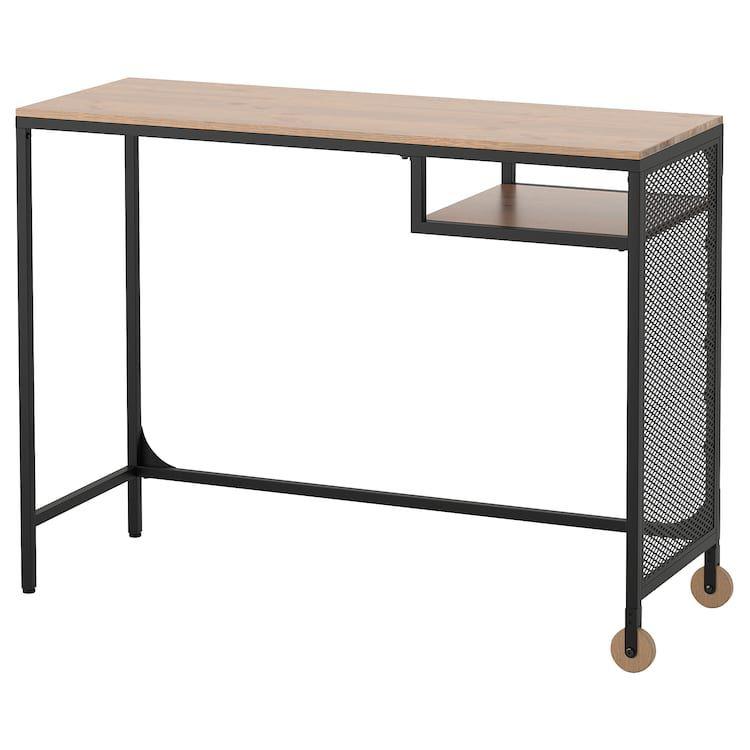 Fjallbo Table Ordinateur Portable Noir 100x36 Cm Ikea Table Pour Ordinateur Portable Table Bois Massif Fjallbo Ikea