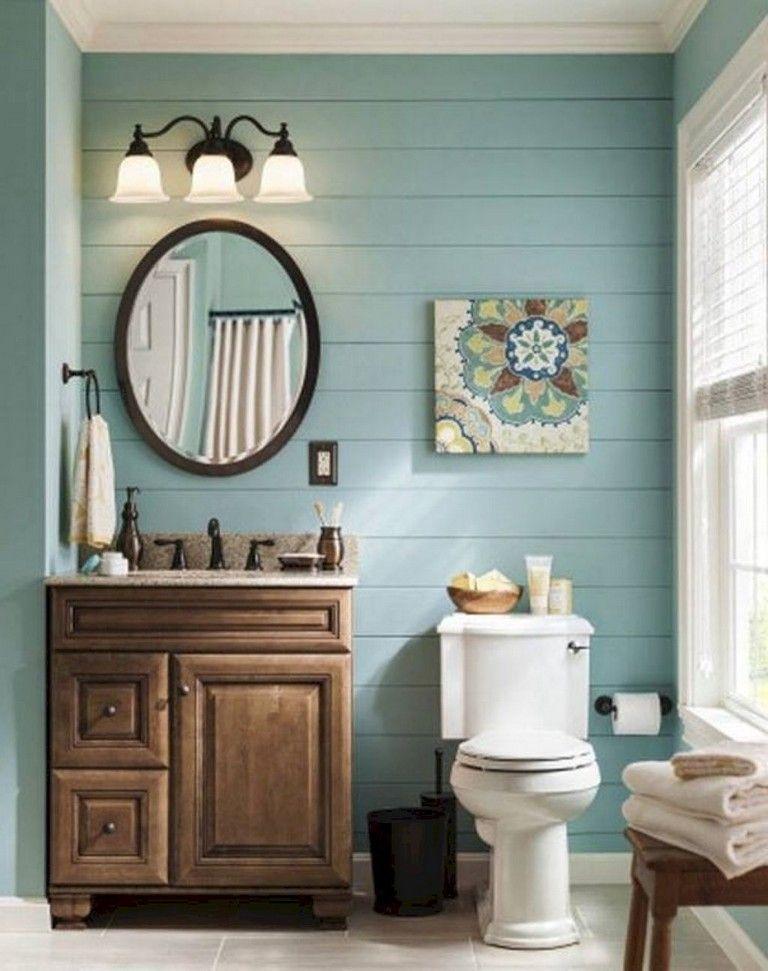 30 beautiful coastral nautical bathroom decor ideas
