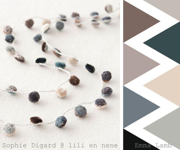colour crochet crush overload : Sophie Digard at Lili et Nene | Emma Lamb