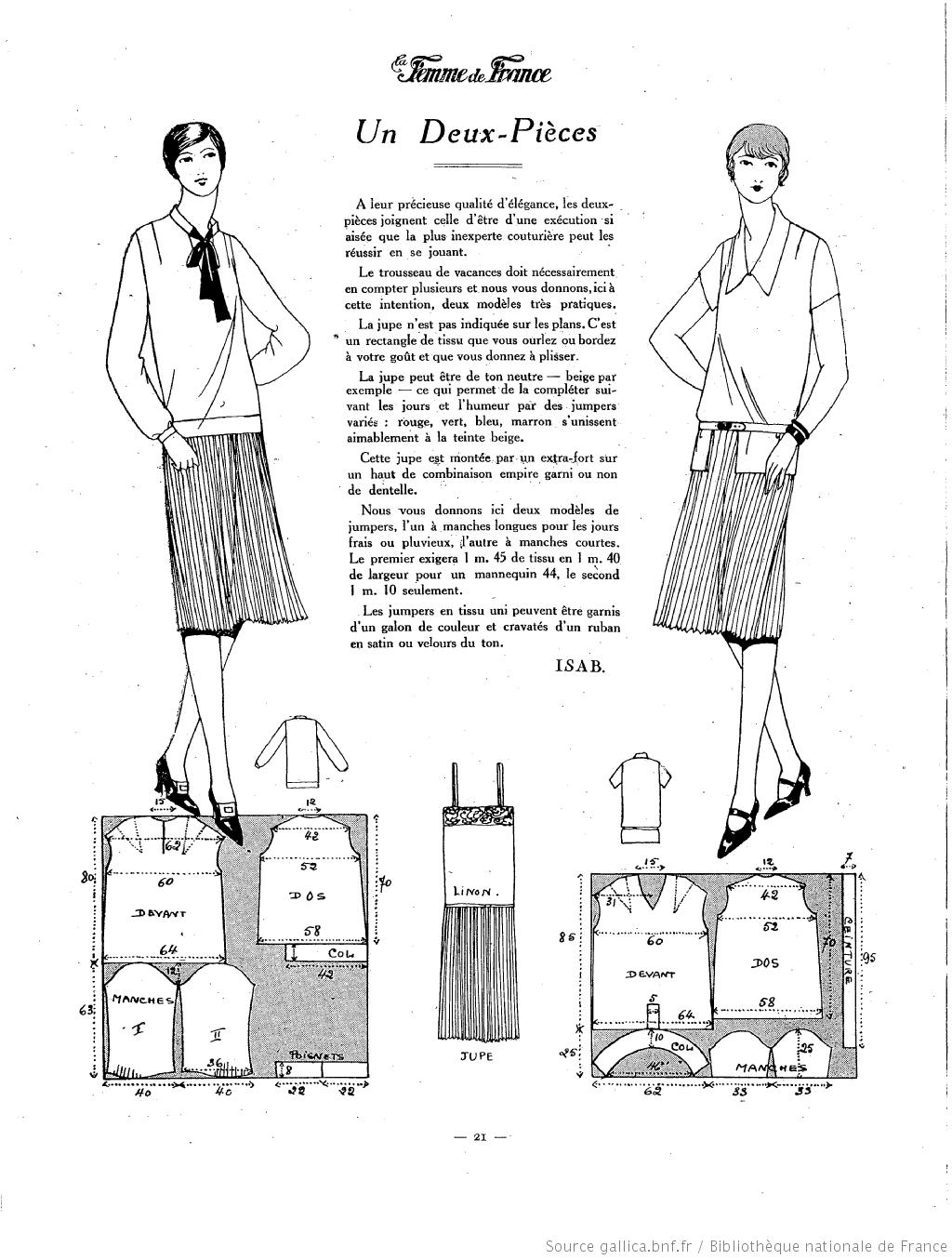 La Femme de France 1926 | To Do | Pinterest | Moda vintage, De época ...