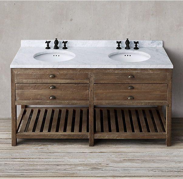 mueble de baño de pino   Baño   Pinterest   Muebles de baño, Pino y Baño