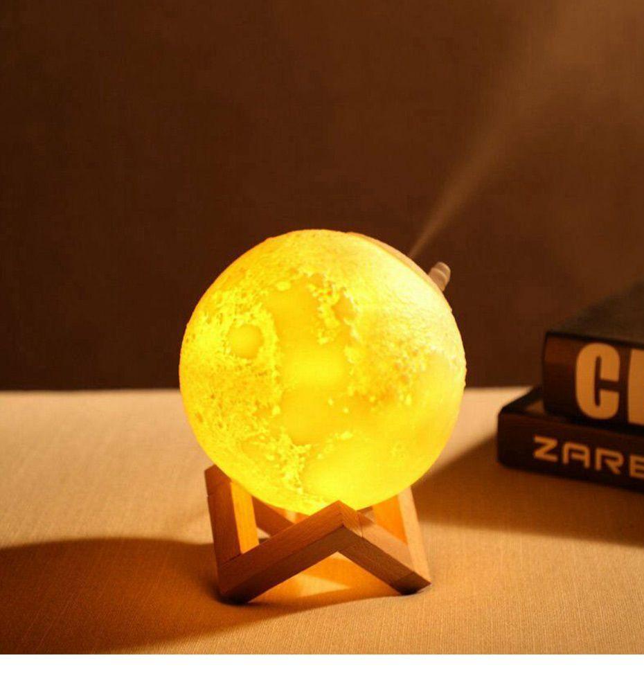 Essential Oil Diffuser Moon Lamp Humidifier Diffuser Aroma Essential Oil