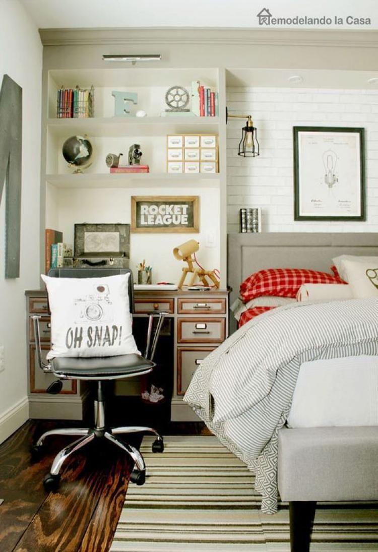 cute inspiring farmhouse bedroom design ideas for your kid s rh za pinterest com