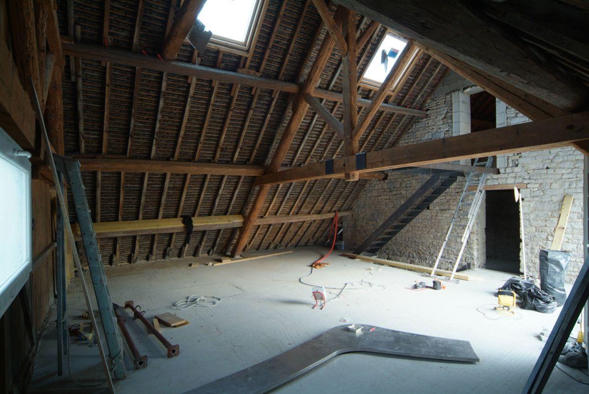 Rénovation Grange - Aménagement loft - DIVERCITY - Entreprise ...