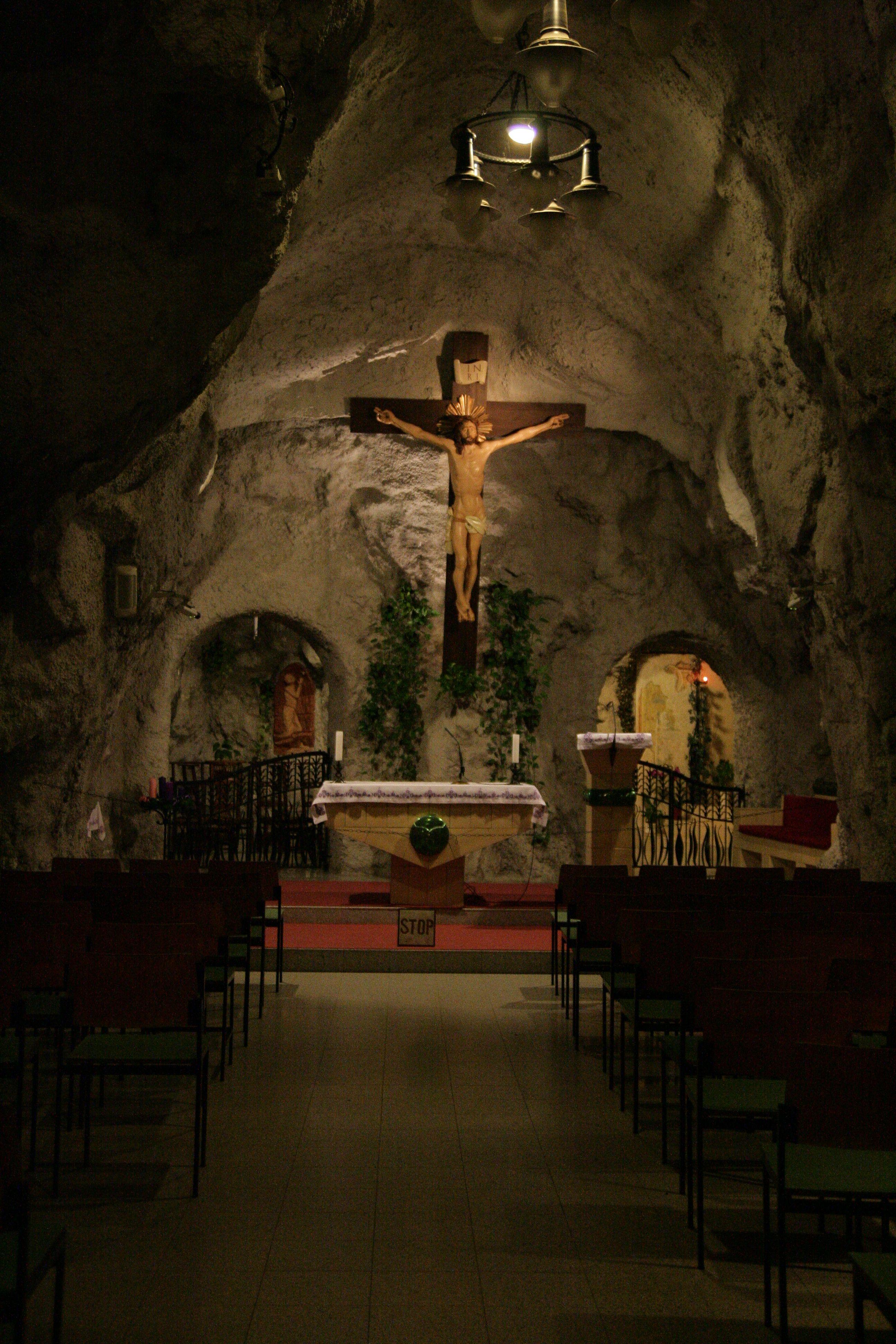Cave Church (Sziklatemplom), Gellért Hill Budapest