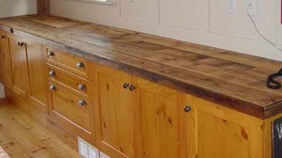 Old Barn Wood Counter Tops Reclaimed Wood Home Decorating In 2019