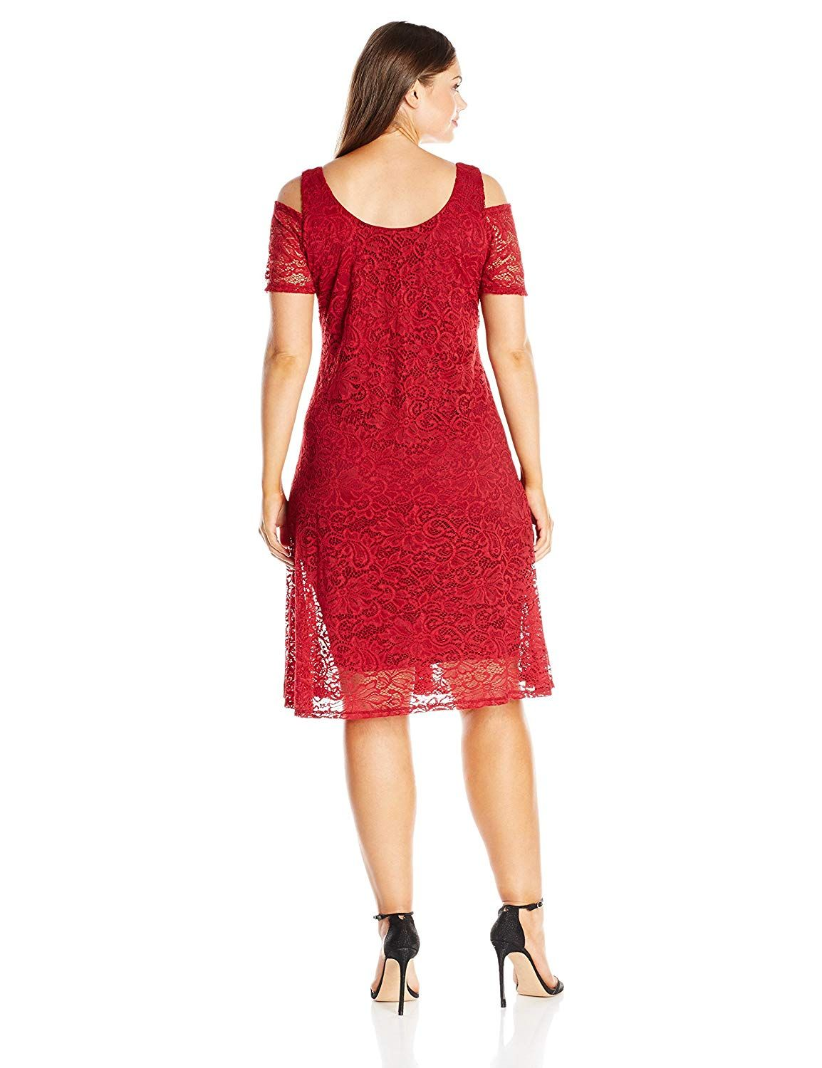 055aebf056a MYNT 1972 Women s Plus Size Lace Cold Shoulder Dress   Be sure to check out  this awesome product. (This is an affiliate link)  PlussizeClothing