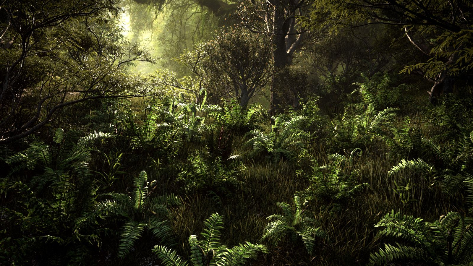 Wild Forest II, Greg Zdunek on ArtStation at https://www.artstation.com/artwork/q0yya