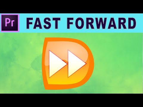 Fast Forward Or Speed Up Only A Specific Portion Of Video Adobe Premiere Pro Tutorial Youtube Premiere Pro Tutorials Adobe Premiere Pro Premiere Pro