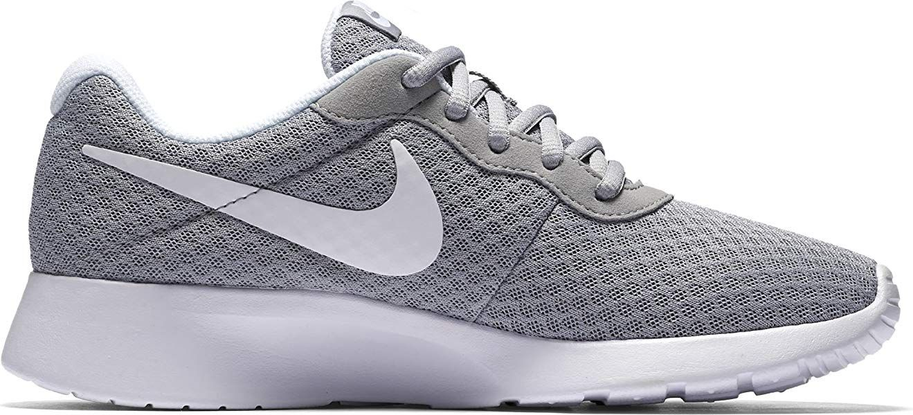 Nike Damen Tanjun Laufschuhe Grau Wolfgrau Weiss 42 Eu Amazon De Schuhe Handtaschen Laufschuhe Schuhe Damen Und Damenschuhe