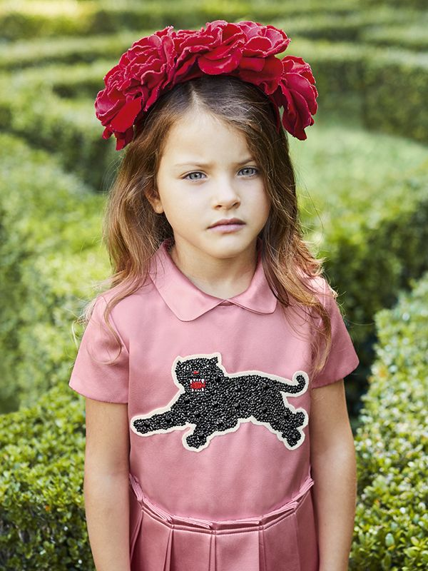 A look from the Gucci Children s Spring Summer 2017 collection ... 925f8420d2e