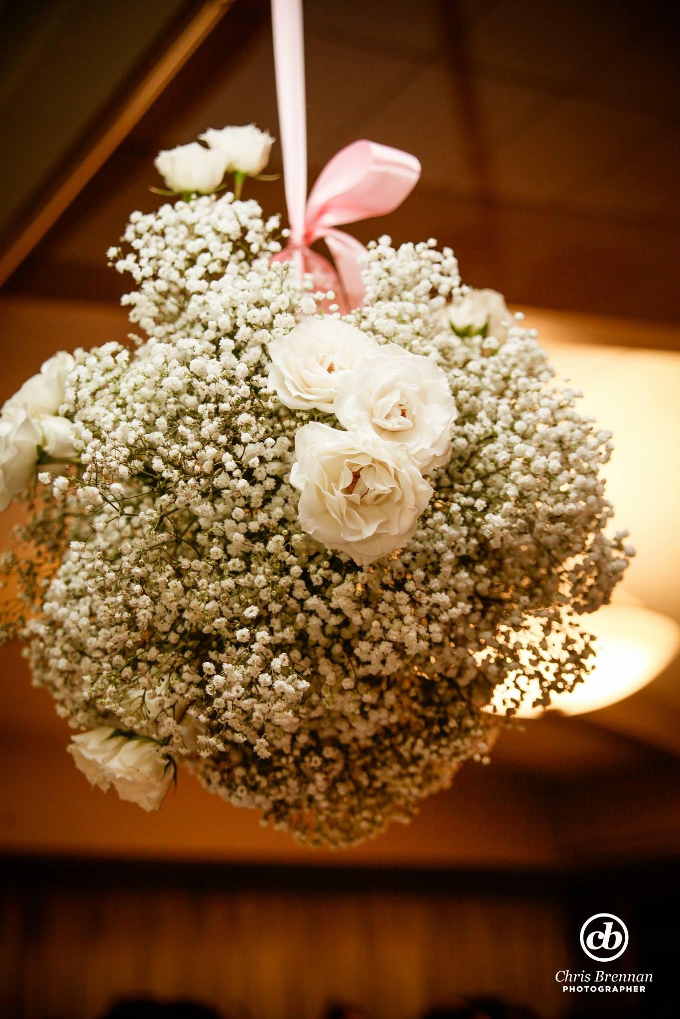 Babys breath bouquet wedding bouquets wedding flowers