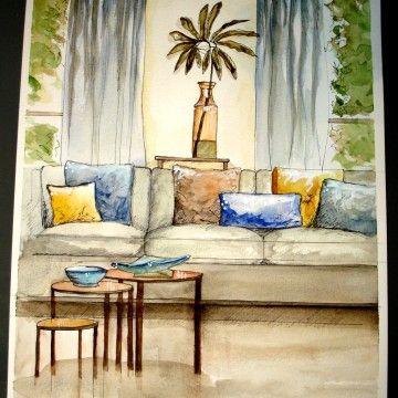 Interior Rendering/ by Cassie Bolden
