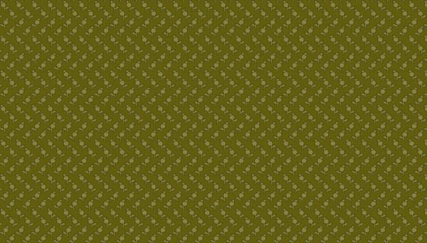 Collection SEQUOIA by Edita Sitar Tulips Forest Green 8757G
