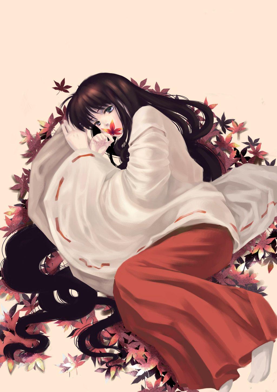 Kikyo (InuYasha)/382741 Zerochan Inuyasha Pinterest